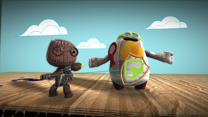 Sackboy startet mit Little Big Planet 3 in die PS4-Ära.