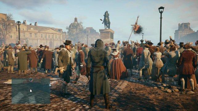 In Paris herrschen raue Sitten!