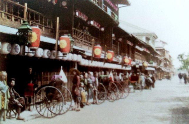 Kyoto und Osaka sind die beiden Zockerhochburgen Japans gegen Ende des 19. Jahrhunderts.