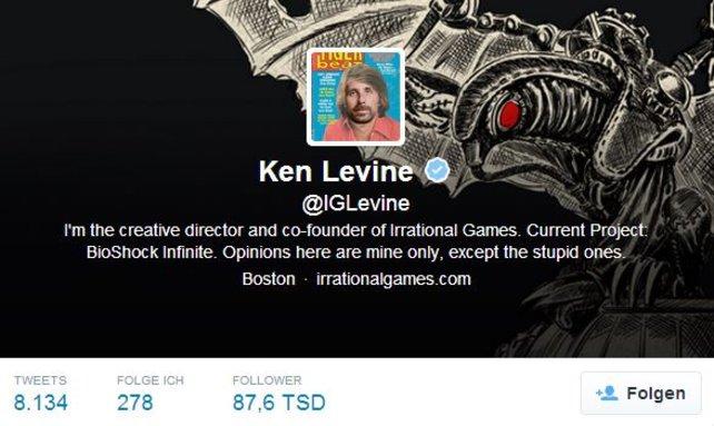 Ken Levine ist der kreative Kopf hinter Bioshock.