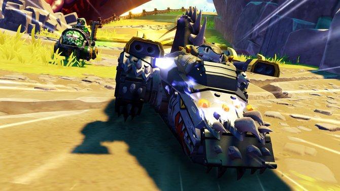 Schnell, unfair und witzig - so fallen die Rennen von Skylanders - Superchargers aus.