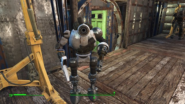 Ist der nicht süß? Baupläne wandelt ihr in neue Roboterteile um.