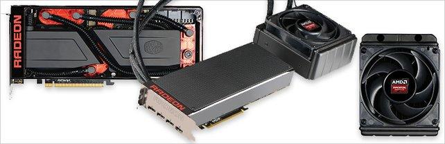 Die neue Radeon Pro Duo soll mit fest verbauter Wasserkühlung kommen.