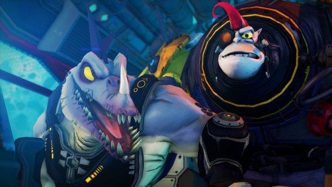 Die Weltraumaffen und Weltraumdinos heizen euch ganz schon ein.