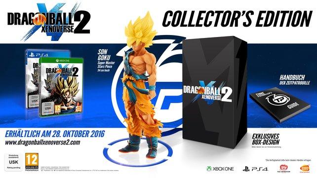Die Figur von Son Goku in der Collector's Edition stammt von Super Master Stars Piece.