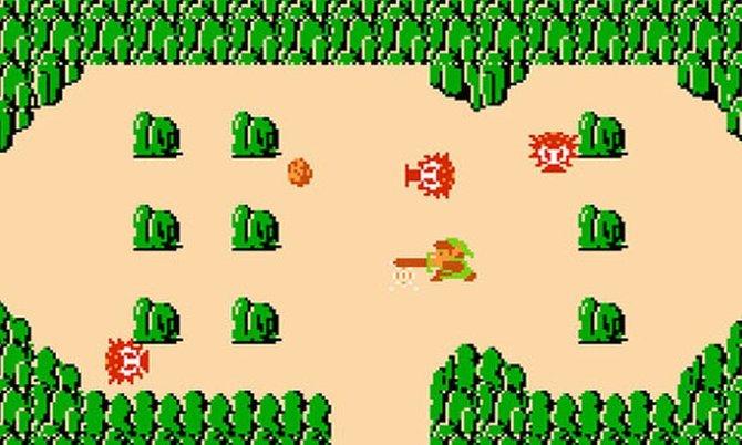 """""""The Legend of Zelda"""" erschien 1986 auf dem Nintendo Entertainment System (NES)."""