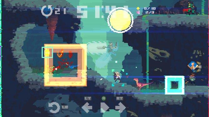 Der Pixel-Stil von Super Time Force Ultra ist gröber als in anderen Indie-Spiele, aber nicht minder charmant.