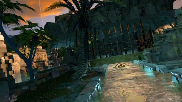 In Ägypten stellt sich Lara an die Seite alter Götter.