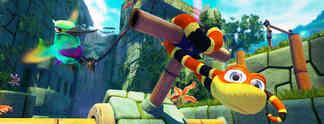 """Snake Pass: Launch Trailer und Grafikvergleich zwischen """"Nintendo-Switch""""- und PS4-Version"""