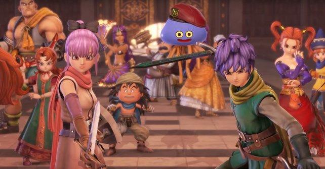 """Euch erwarten viele bekannte Charaktere aus der """"Dragon Quest""""-Serie."""