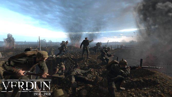 In Verdun 1914 - 1918 kämpft ihr euch durch Schützengräben.