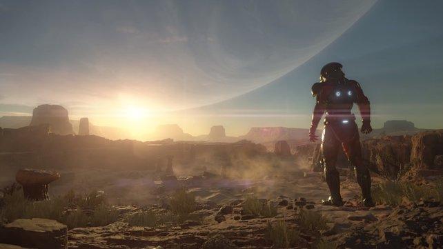 In Mass Effect Andromeda erkundete ihr fremde Planten.