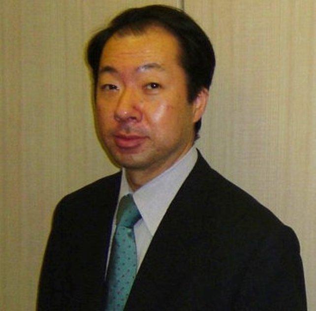 Das ist Koji Kondo, der berühmte Liedermacher der Zelda-Reihe.