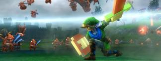 Hyrule Warriors: Dynasty Warriors mit Link und Zelda