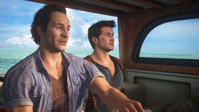 So sieht er aus, Nathans älterer Bruder Sam (links).