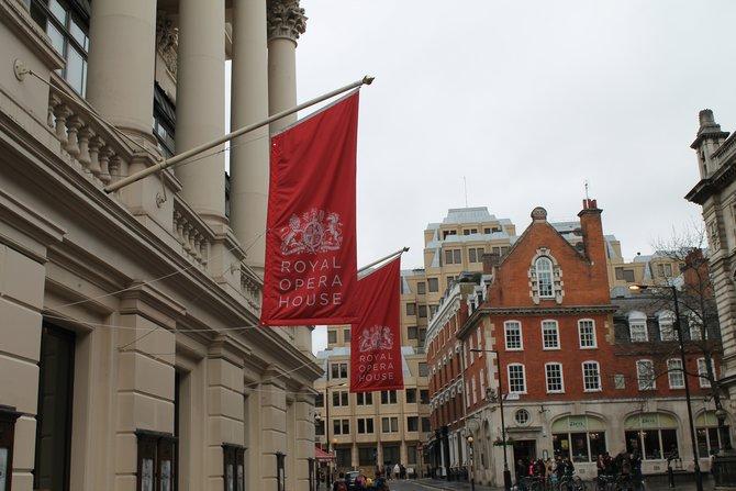 Austragungsort der Europameisterschaft war das Royal Opera House im Herzen Londons.