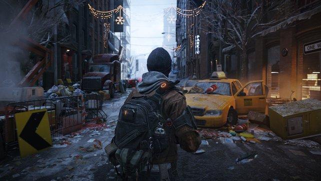 Tom Clancy's The Division schickt euch in ein New York, das im Chaos versunken ist.