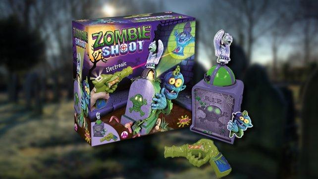 Die Kleinen bereiten sich lieber zu früh als zu spät auf die Zombie-Apokalypse vor.