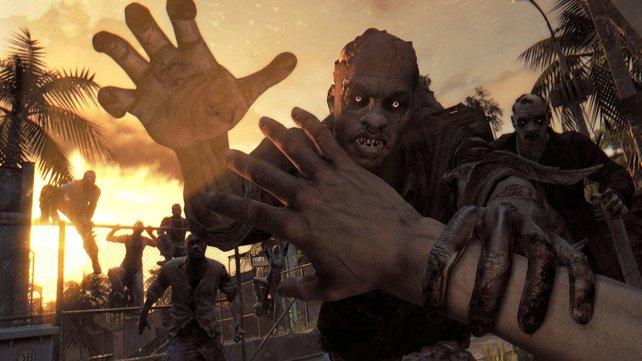 Lasst Zombies nie so nah an euch ran!