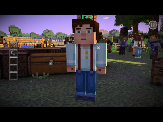In Minecraft - Story Mode erlebt ihr ein Adventure in der Welt von Minecraft.