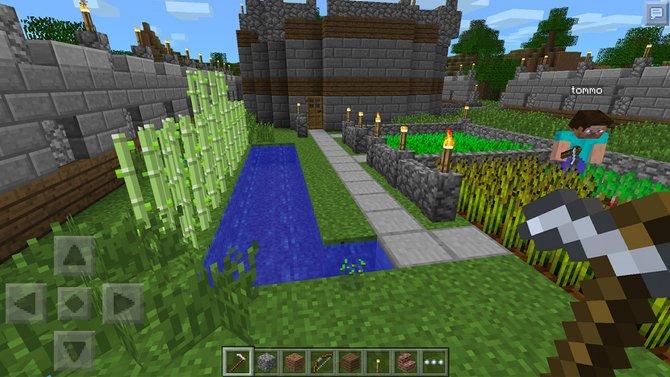 Mit dem Update 0.9.0 für Minecraft - Pocket Edition erhaltet ihr unendliche Welten, neue Blöcke und Höhlensysteme.