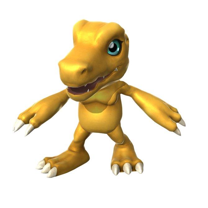 Zwölf Digimon wie Agumon sind in Digimon All-Star Rumble spielbar.