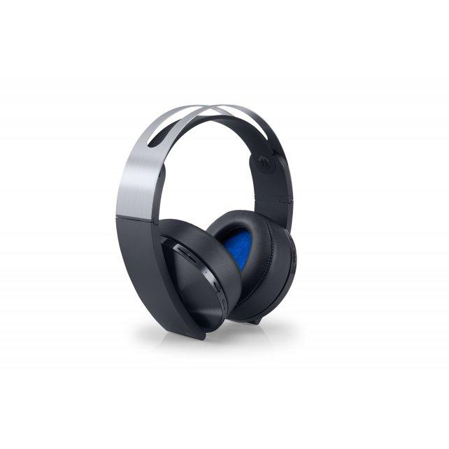 Das neue Platinum Wireless Headset mit Unterstützung für PlayStation VR.