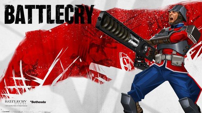 """Der """"Gadgeteer"""" steht erst später für Battlecry zur Verfügung. Seine Waffe ist das Gaußgewehr."""