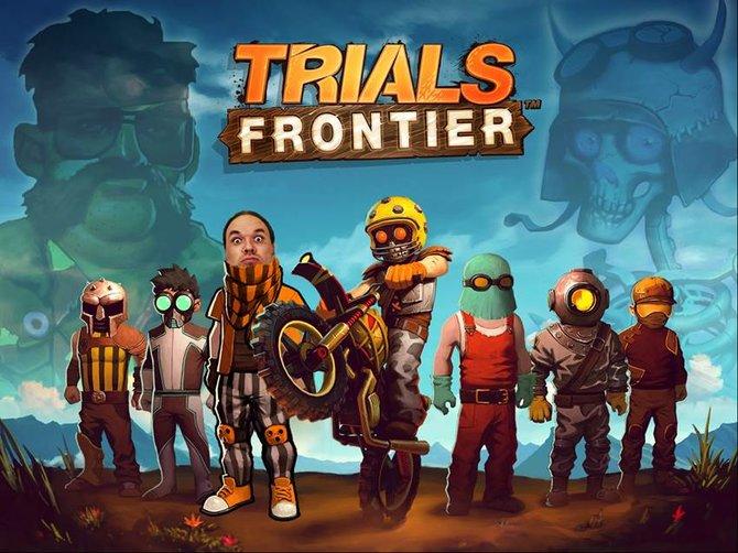 """Willkommen zu Trials Frontier! Ubisoft hat uns diese spezielle Grafik mit den Worten """"Gratulation, das Land hat einen neuen Butch!"""" zur Verfügung gestellt. Seht ihr ihn?"""