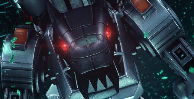 Machinedramon ist ein mächtiges Mega-Digimon.