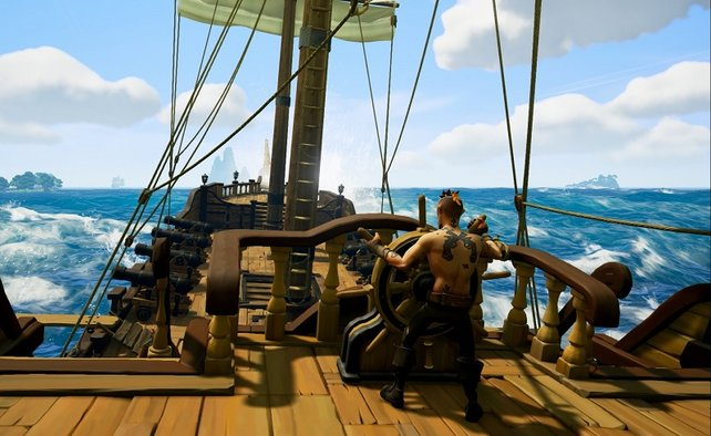 Um ein Piratenschiff über Wasser zu halten, benötigt es mehr als nur den Steuermann.