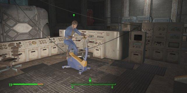Für die Experimente könnt ihr arbeitslose Bewohner nutzen.