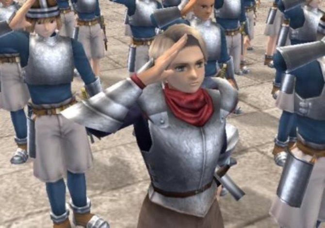 Snowe ist in der Ausbildung zum Ritter ein guter Freund von Lazlo.