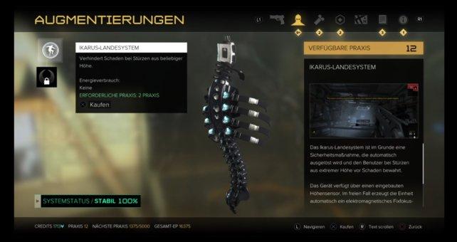 """Rücken-Upgrade: """"Ikarus Landesystem"""""""