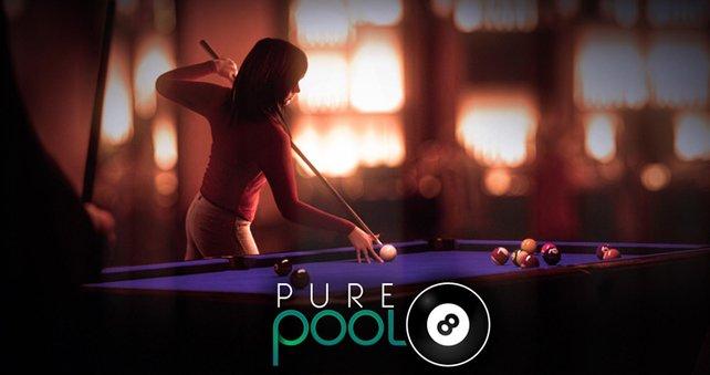 Wie der Name des Spiels verrät, bekommt ihr Pool hier pur.