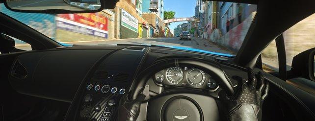 Die Sicht aus dem Cockpit ist so realitätsnah wie nie zuvor.