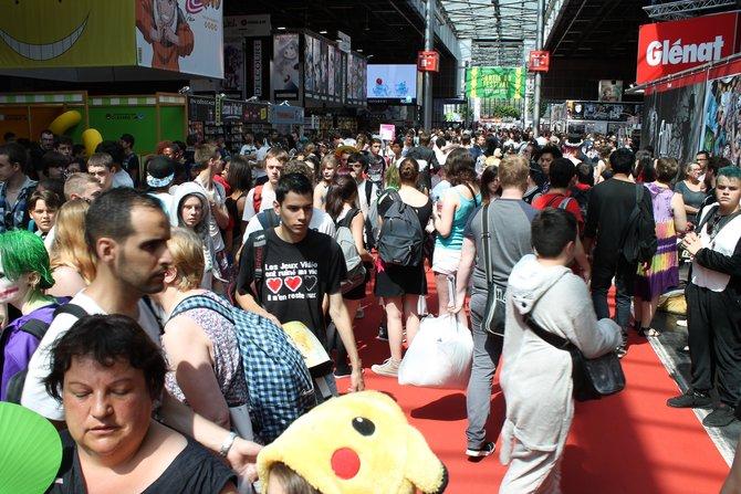 Die Japan Expo Paris hatte letztes Jahr bereits 240.000 Besucher. Tendenz: Steigend.