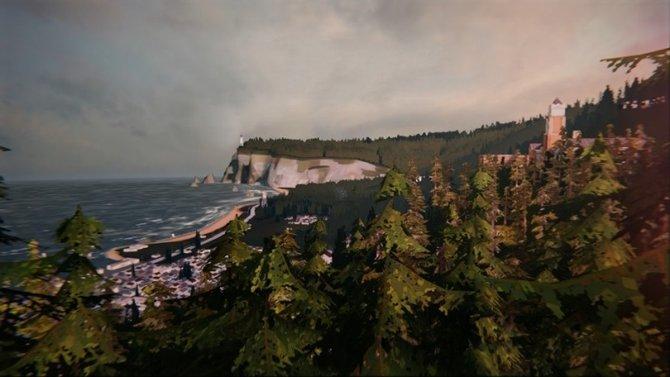 """Die Stadt Arcadia Bay wird in """"Life is Strange"""" von einer seltsamen Gefahr bedroht."""
