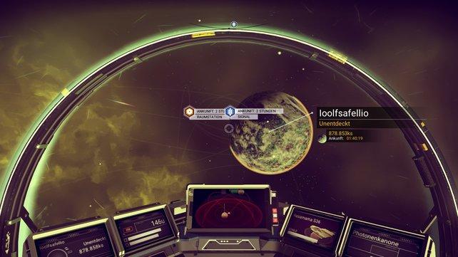 Tipp für Einsteiger: Sucht euch zunächst eine Raumstation und reist dorthin.