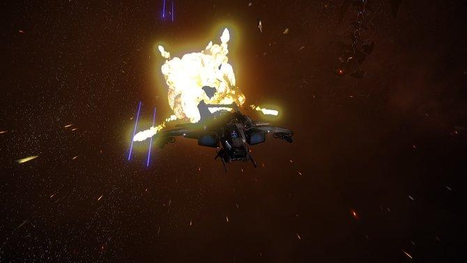 Weltraum-Schlachten wie hier in Star Citizen waren lange eine Nische in der Welt der Videospiele. Jetzt feiern sie ihre Rückkehr.