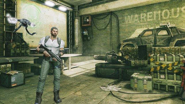 Waffen, Ausrüstung und Robopets - im Laden findet ihr alles.