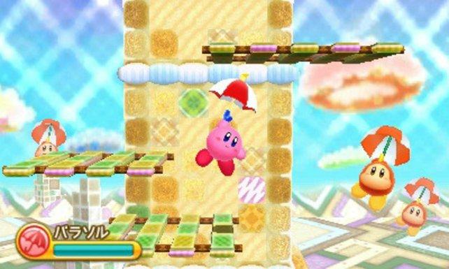 Kirby begibt sich wieder auf ein Abenteuer.