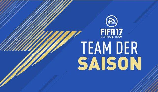 Das Team of the Season für FIFA 17 enthält die stärksten Spieler der Saison.