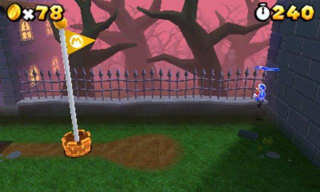 Erkennt ihr den Geist, der nach einigen Sekunden am Zaun erscheint?