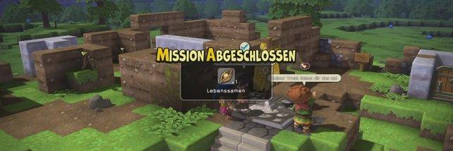 Lebenssamen erhaltet ihr in Dragon Quest Builders überwiegend durch abgeschlossene Quests.