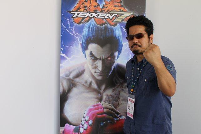 Katsuhiro Harada, den Produzenten der Tekken-Reihe, wird man selten ohne Sonnenbrille antreffen.