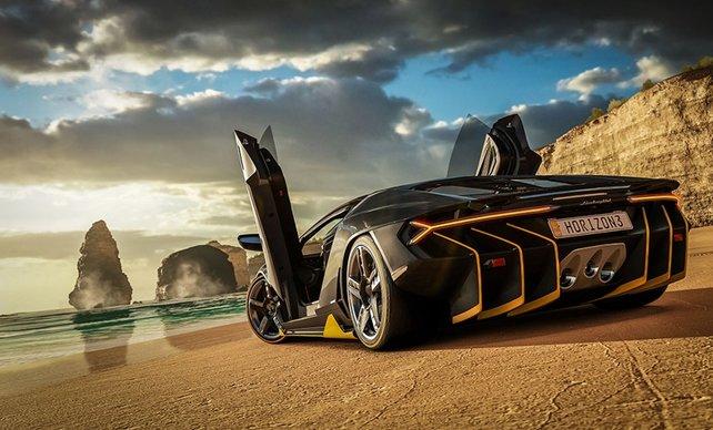 Alle Autos auf einen Blick und der Lamborghini Centenario überschattet sie alle - wunderschön!