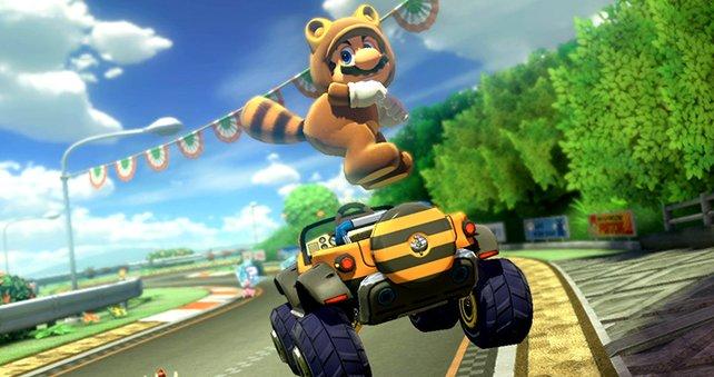 Tanuki! Tanuki! Schon seit Super Mario Bros. 3 ein Favorit vieler Spieler.