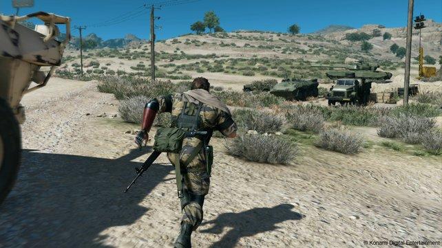 Die offenen Areale erfordern Taktik und ein wachsames Auge für Gegner.