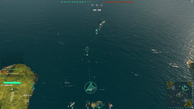 Abfangjäger fliegen voraus, dahinter kommen eure Bomber.